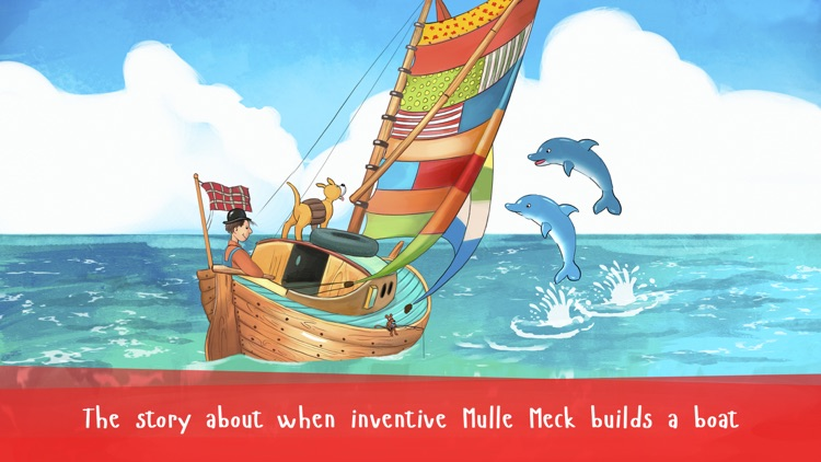 Mulle Meck builds a boat — a children's book screenshot-0