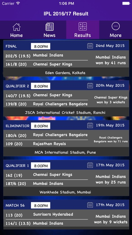 Cricket 2017 - Schedule,Live Score,Today Matches screenshot-3