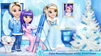 Ice Princess Castle Decoration: My Play home Games by Mirjana