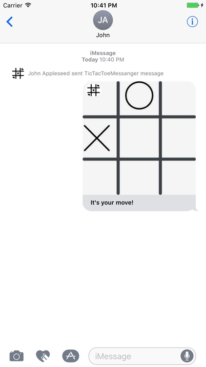 Tic Tac Toe Messenger screenshot-4