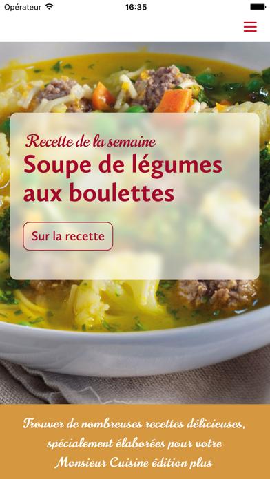 Monsieur Cuisine sur pc