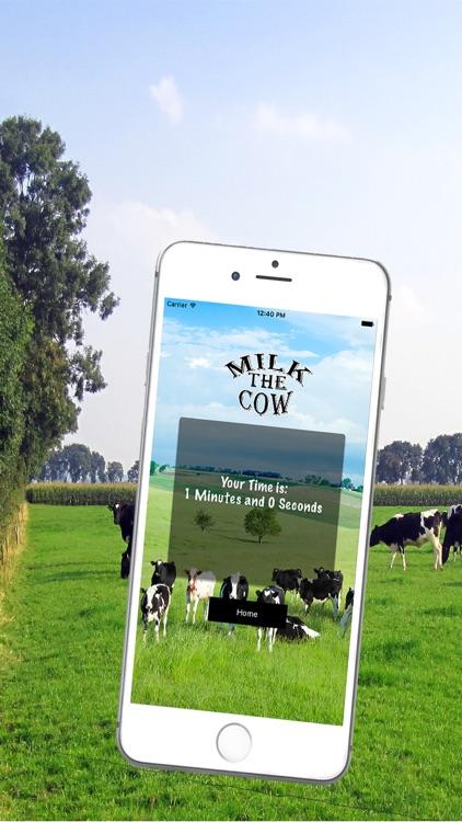 Milk The Cow : Cow Milking screenshot-3