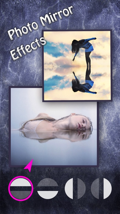 Photo Mirror Effects - Reflection Editor