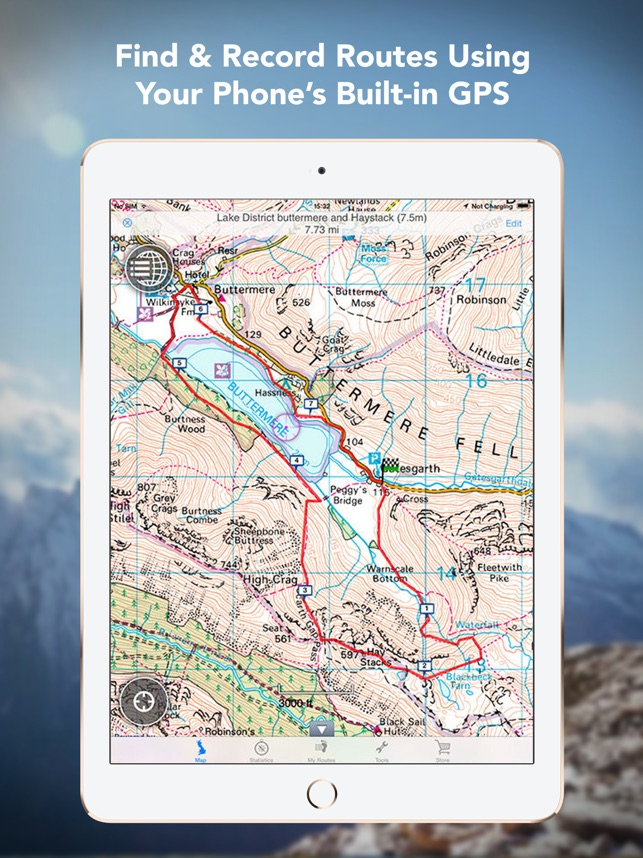 Outdoors GPS u2013 Offline OS Maps