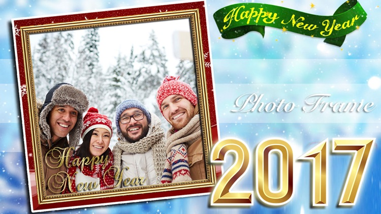 New Year Photo Frame Collection 2017 screenshot-3