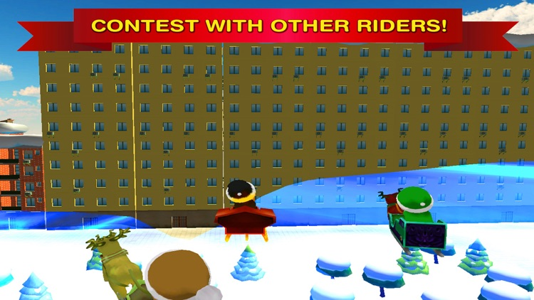 Santa Claus Christmas Snow Racing Full