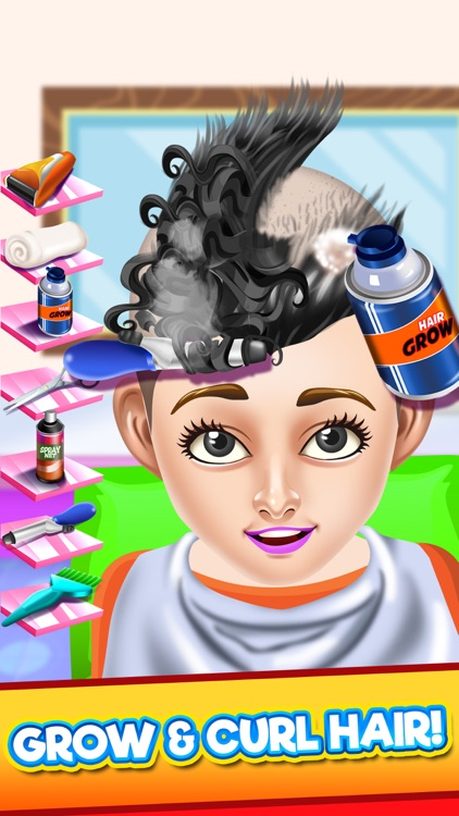 Kids Hair Shave Salon Games screenshot-3