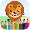 Kids Animals Coloring Pages for Girls & Boys