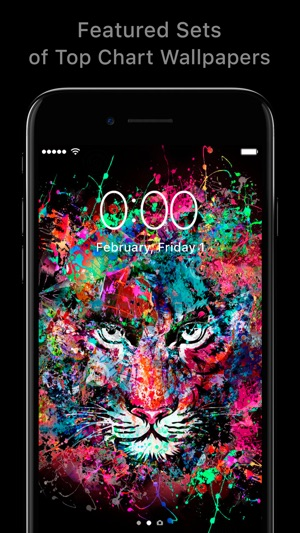 Featured of Wallpapers & Cool Backgrounds App Screenshot