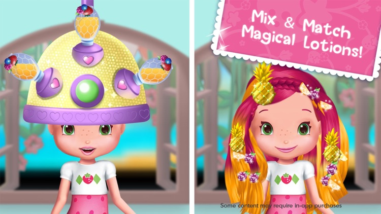 Strawberry Shortcake Holiday Hair - Fashion World screenshot-3