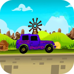 Real Offroad Hill Climbing Racing 2D