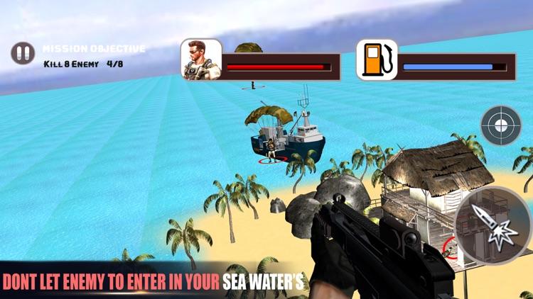 Helicopter Gunship Commando Strike screenshot-3