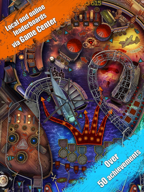 War Pinball HD screenshot-3