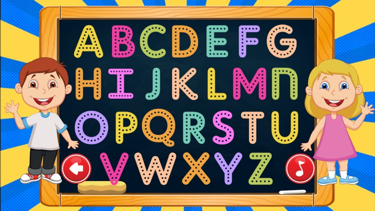 Learning ABC Vocabulary Letter Tracing for Kids screenshot-4