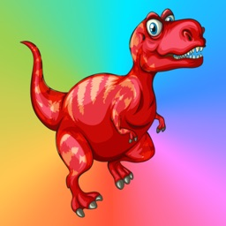 Dinosaur Coloring Book Paint Games For Kids Free