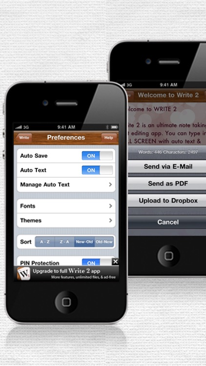 Write 2 Lite - Note Taking & Writing screenshot-2