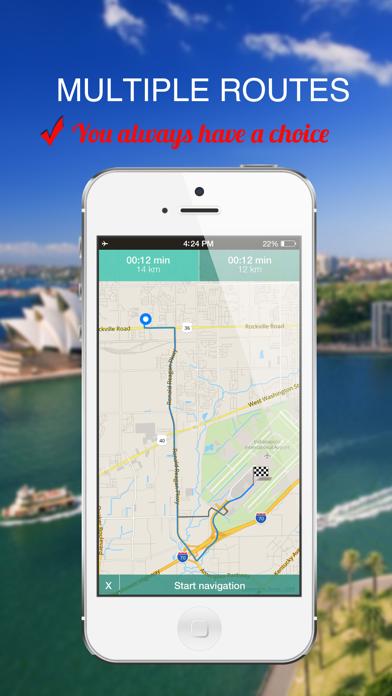 Guyana : Offline GPS Navigation screenshot three