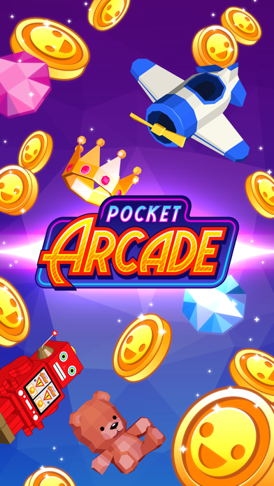 Pocket Arcade - Coins, Claw, Basketball & more! by Kuyi Mobile (iOS