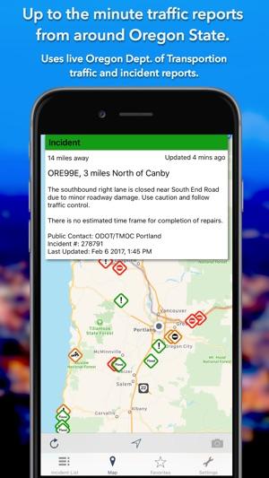 Oregon Roads Traffic On The App Store