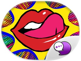 Lip hot girl Stickers for iMessage
