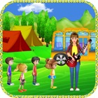 School Bus Trip Pre School Educational Game icon