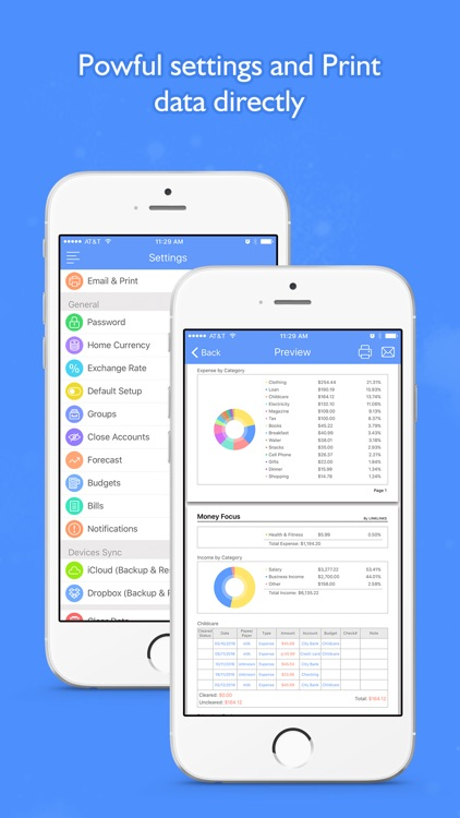 Money Focus Pro - Account, Budget and Bill Manager screenshot-4