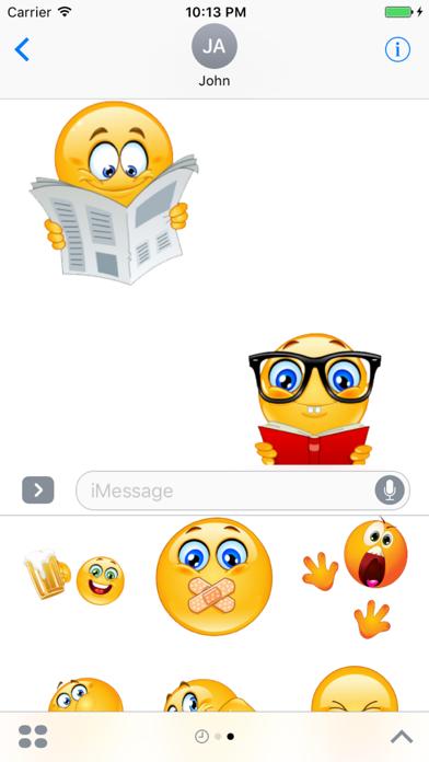 Emoji Stickers Kit screenshot 2