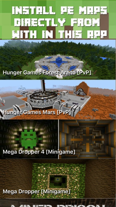 Screenshot #5 for Maps for Minecraft PE FREE - One Touch Install
