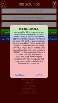 100sounds + RINGTONES! 100+ Ring Tone Sound FX iphone images