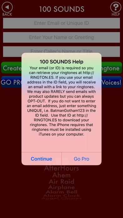 100sounds + RINGTONES! 100+ Ring Tone Sound FX screenshot three