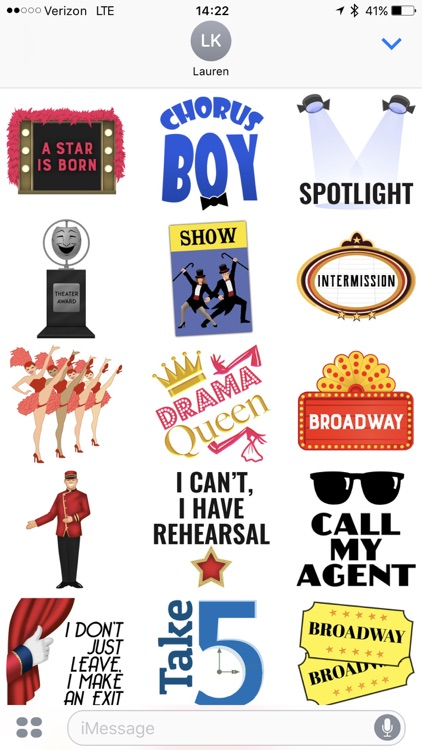 Theater Stickers