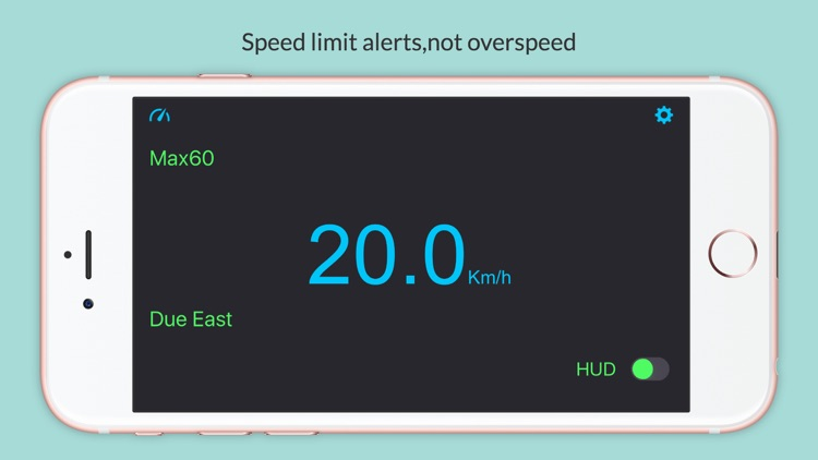 Speed Alarmer + - Car Speed Alert
