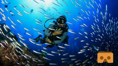 VR Scuba Diving with Google Cardboard ( VR Apps ) screenshot one