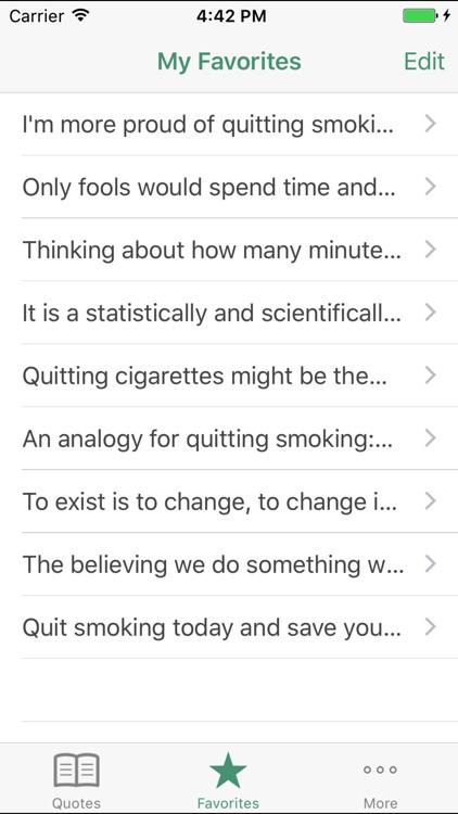 Stop Smoking Quotes screenshot-3