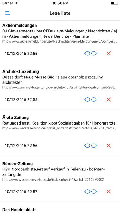 ZEITUNGEN UND ZEITSCHRIFTEN screenshot four