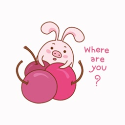 Pink Cute Rabbit Animated