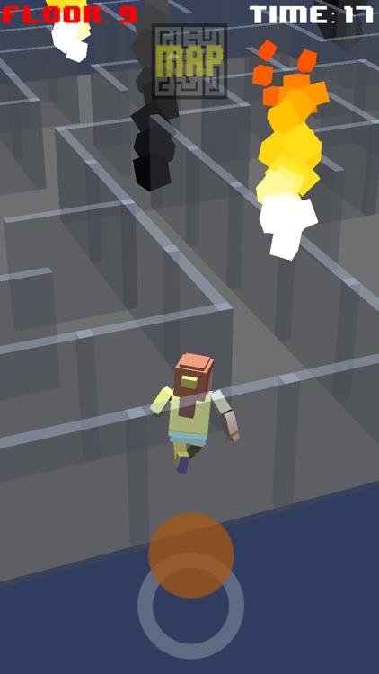 Get Out Now - 3D Maze Run Escape Game