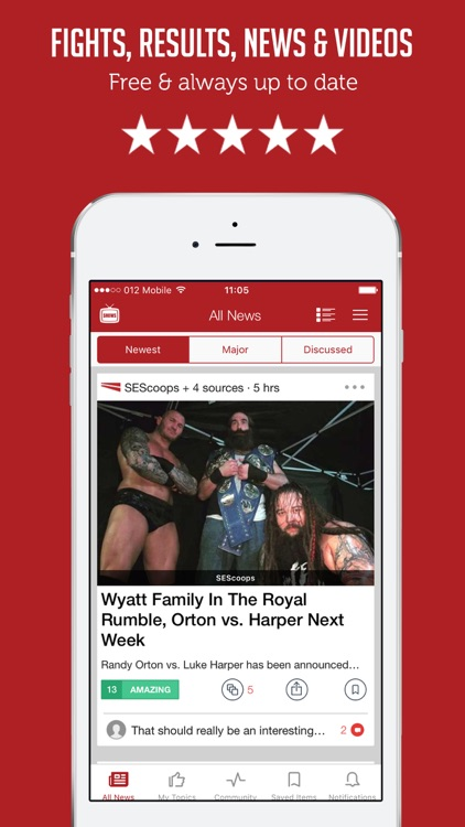 Sportfusion - WWE Unofficial Wrestling News