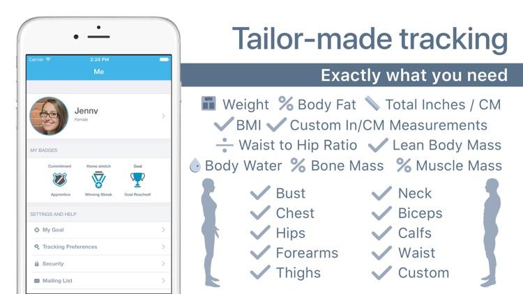 Body Measurement, Photo & Weight Tracker: Progress