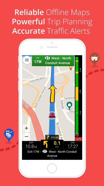 CoPilot HD USA & Canada – Offline GPS Navigation