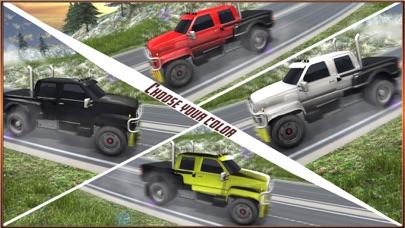 4 × 4 越野塞拉利昂模拟器 — — 爬山驾驶 App 截图