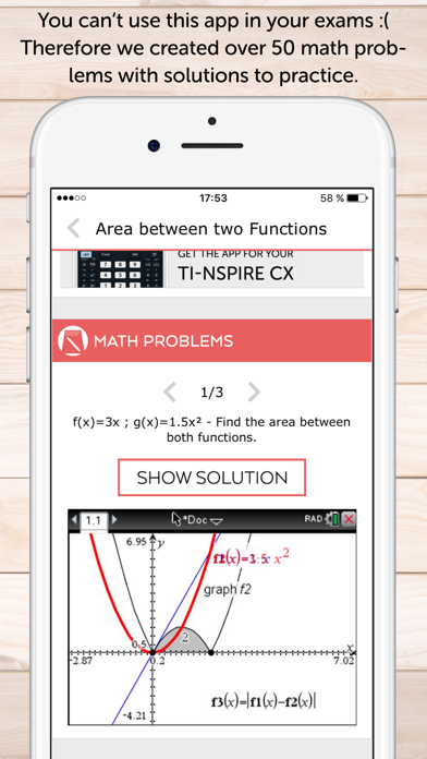 TI Nspire Calculator Manual - App - iOS me