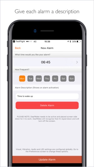 Deaf Wake On The App Store