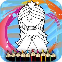 Fairy Princess coloring book : Best 30 Pages