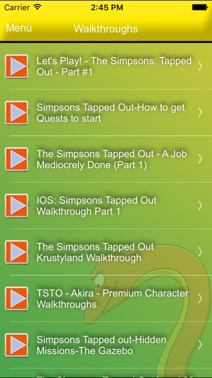 Best Guide for Simpsons Tapped Out (Unofficial) screenshot-3