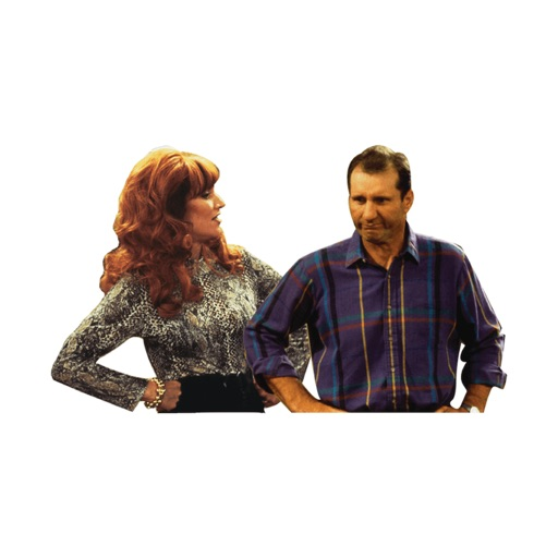 Married With Children It's a Bundy-ful Life Sticke