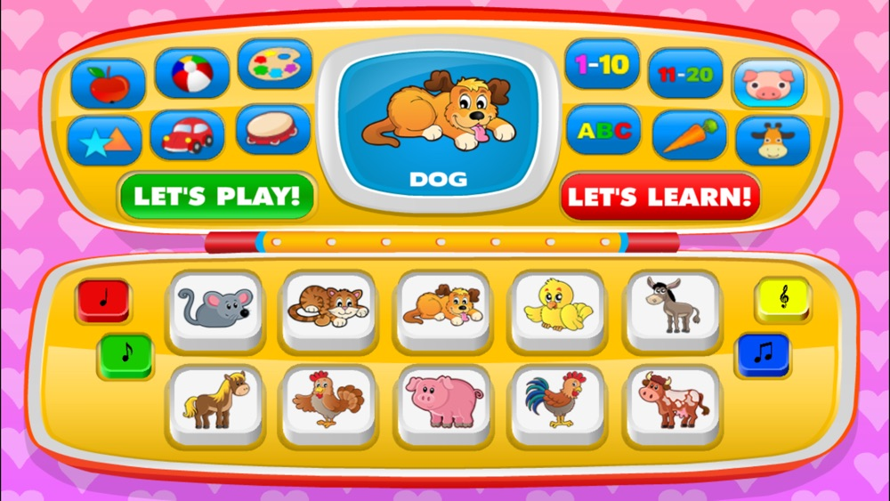 Baby learning: Toddler games for 1 2 3 4 year olds hack tool
