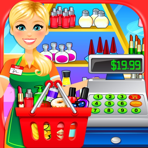 Supermarket: Drugstore, Grocery & Convenience Store Simulator - Kids Shopping Games FREE