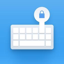 SecureKeyboard — File sharing, custom theme