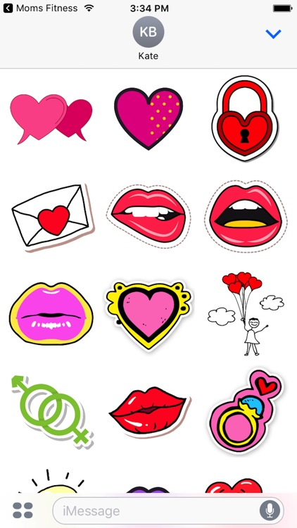 Cute - Valentine's Day Stickers screenshot-3